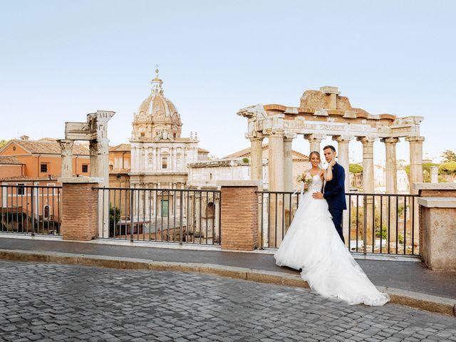 Il matrimonio di Matteo e Silvia a Roma, Roma 46
