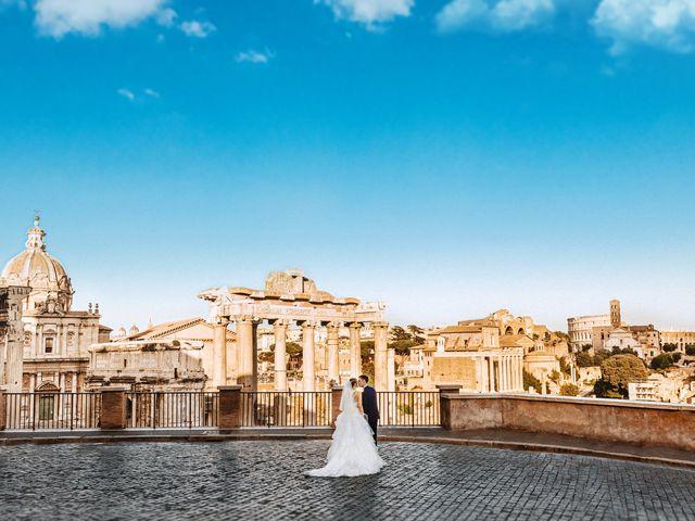 Il matrimonio di Matteo e Silvia a Roma, Roma 52
