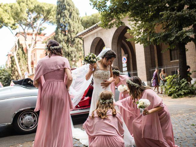 Il matrimonio di Jacopo e Ambra a Roma, Roma 12