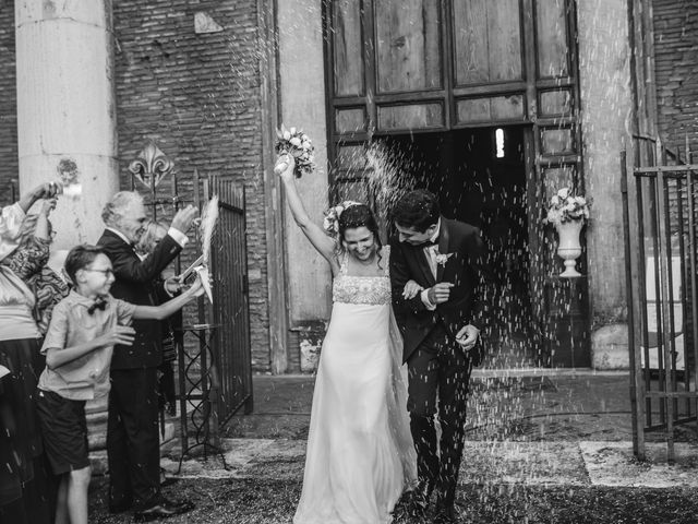 Il matrimonio di Jacopo e Ambra a Roma, Roma 1