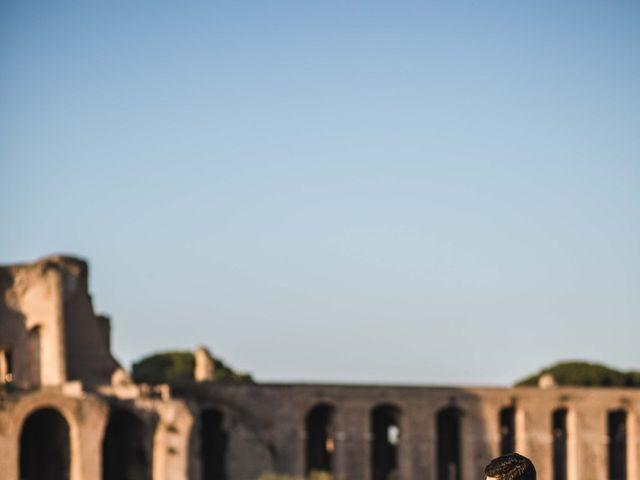 Il matrimonio di Jacopo e Ambra a Roma, Roma 40