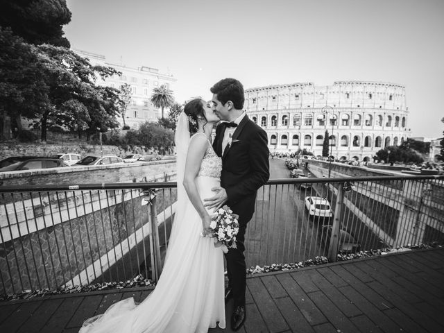 Il matrimonio di Jacopo e Ambra a Roma, Roma 41