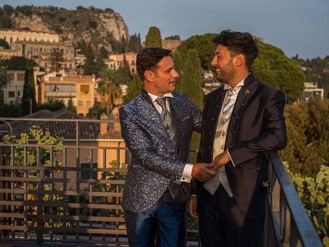Il matrimonio di Marco e Piero a Taormina, Messina 30