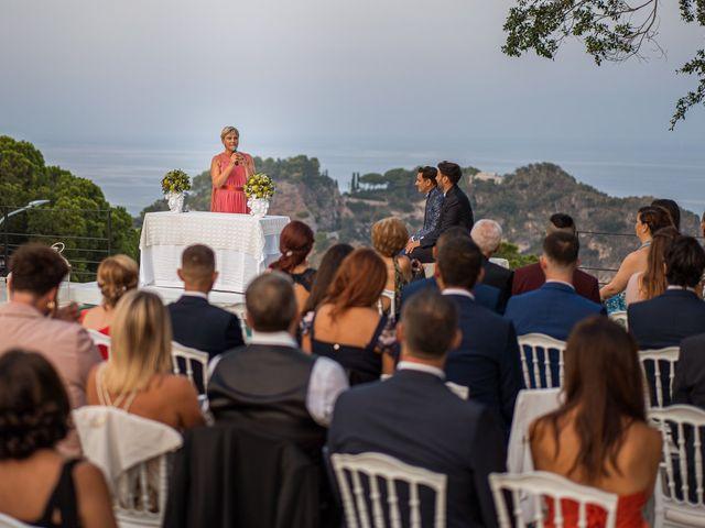 Il matrimonio di Marco e Piero a Taormina, Messina 40