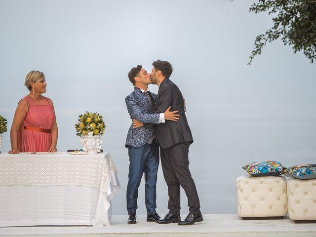 Il matrimonio di Marco e Piero a Taormina, Messina 44