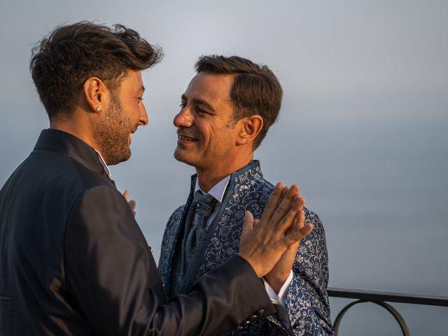 Il matrimonio di Marco e Piero a Taormina, Messina 63