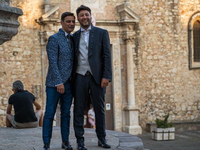Il matrimonio di Marco e Piero a Taormina, Messina 64