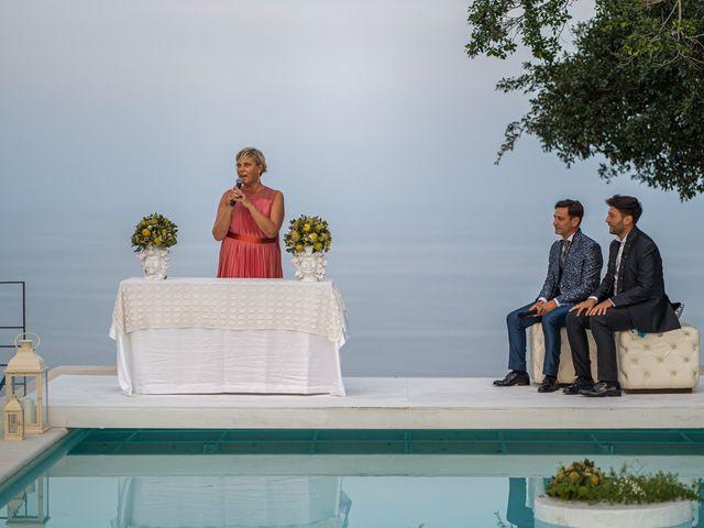 Il matrimonio di Marco e Piero a Taormina, Messina 66
