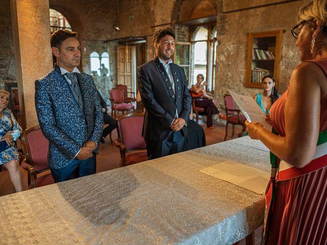 Il matrimonio di Marco e Piero a Taormina, Messina 83