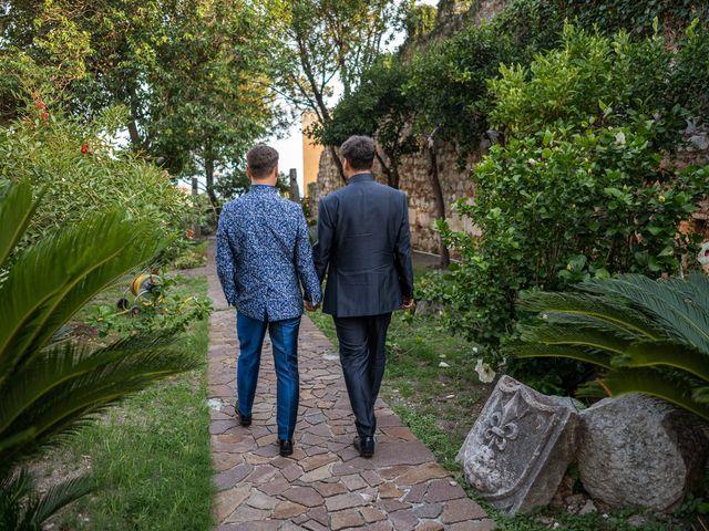 Il matrimonio di Marco e Piero a Taormina, Messina 90