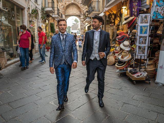 Il matrimonio di Marco e Piero a Taormina, Messina 92