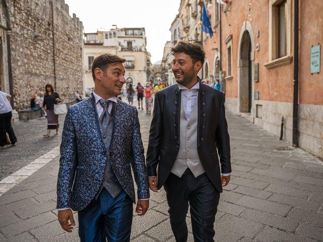 Il matrimonio di Marco e Piero a Taormina, Messina 93