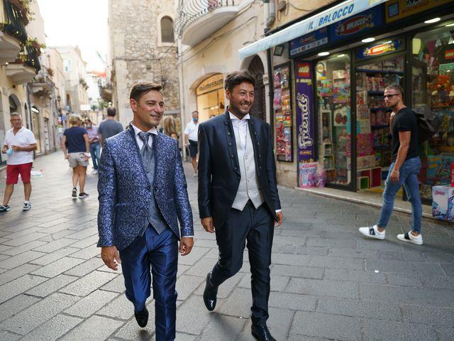 Il matrimonio di Marco e Piero a Taormina, Messina 94