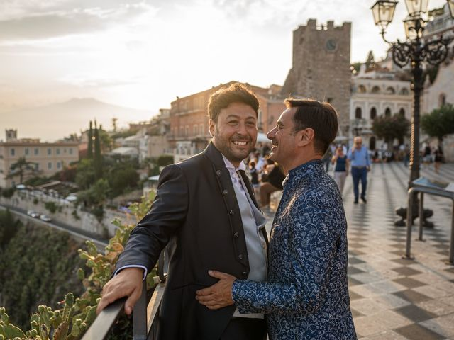 Il matrimonio di Marco e Piero a Taormina, Messina 96