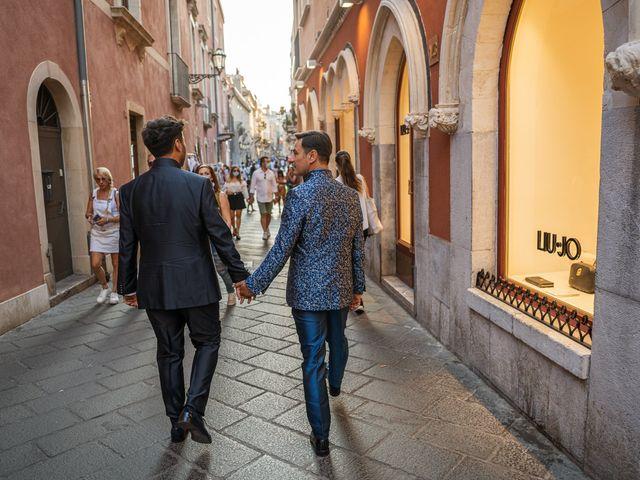 Il matrimonio di Marco e Piero a Taormina, Messina 97