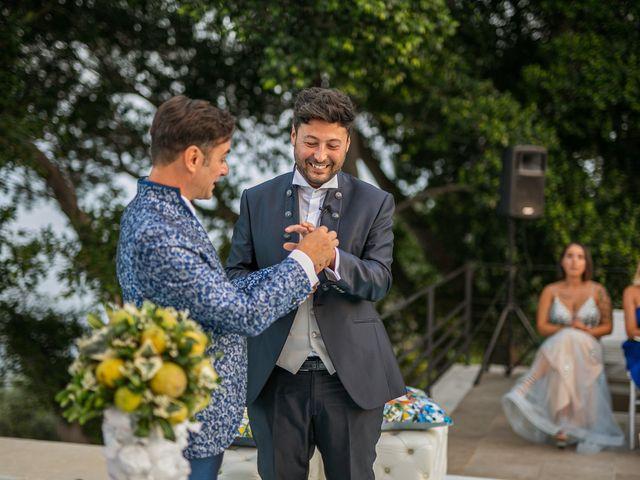 Il matrimonio di Marco e Piero a Taormina, Messina 167