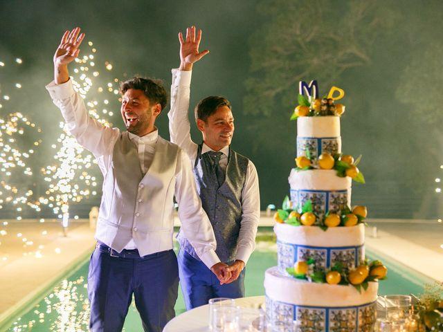 Il matrimonio di Marco e Piero a Taormina, Messina 180