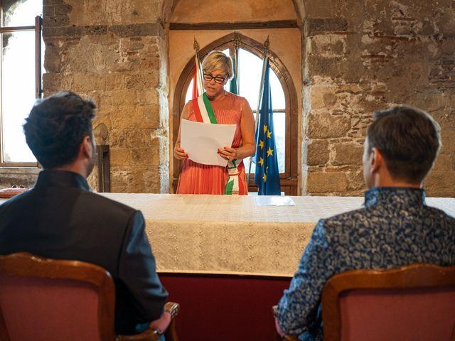 Il matrimonio di Marco e Piero a Taormina, Messina 190