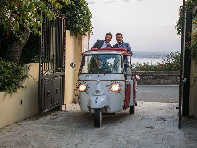 Il matrimonio di Marco e Piero a Taormina, Messina 199
