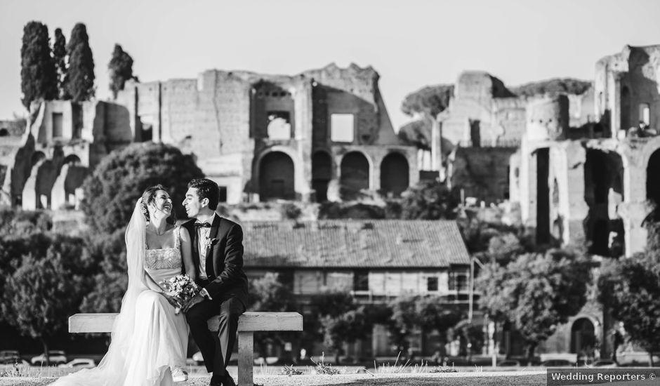 Il matrimonio di Jacopo e Ambra a Roma, Roma