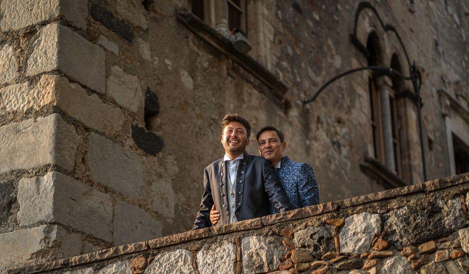 Il matrimonio di Marco e Piero a Taormina, Messina