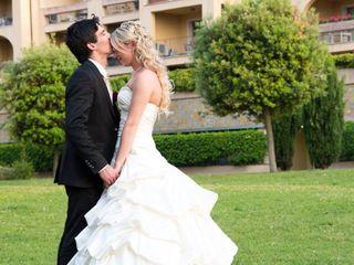 Le nozze di Michelle Raseni e Davide Casertano