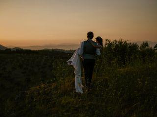 Le nozze di Amy e Geoffrey