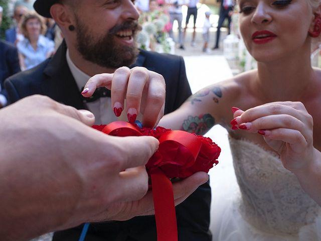 Il matrimonio di Denny e Serena a Osasco, Torino 23