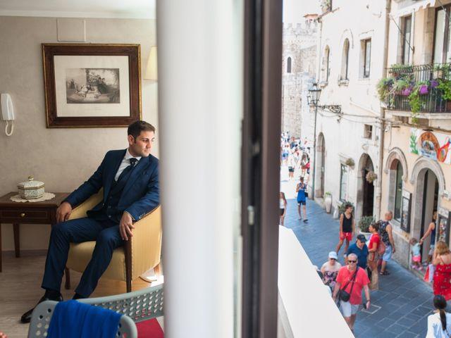 Il matrimonio di Gianluca e Caterina a Taormina, Messina 7