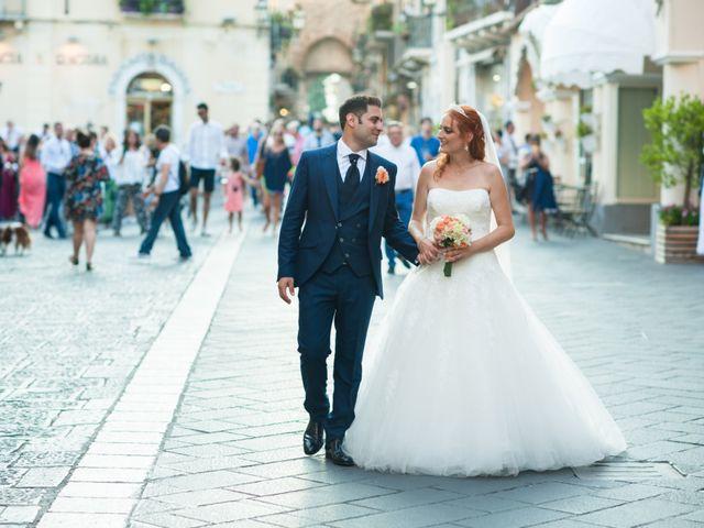 Il matrimonio di Gianluca e Caterina a Taormina, Messina 10
