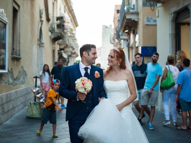 Il matrimonio di Gianluca e Caterina a Taormina, Messina 14