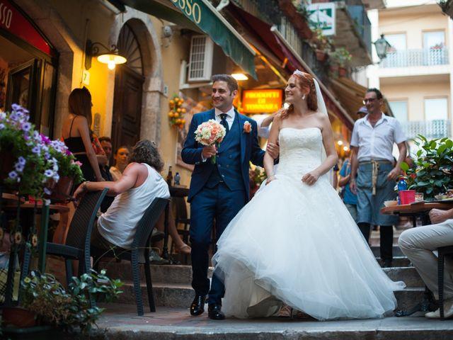 Il matrimonio di Gianluca e Caterina a Taormina, Messina 15