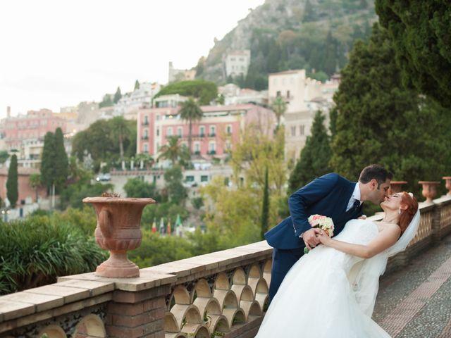 Il matrimonio di Gianluca e Caterina a Taormina, Messina 17