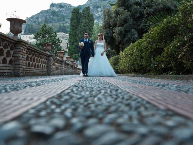 Il matrimonio di Gianluca e Caterina a Taormina, Messina 18