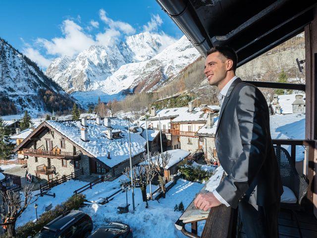 Il matrimonio di Viviana e Simone a Courmayeur, Aosta 9