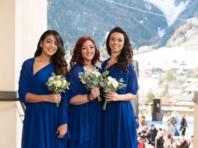 Il matrimonio di Viviana e Simone a Courmayeur, Aosta 19