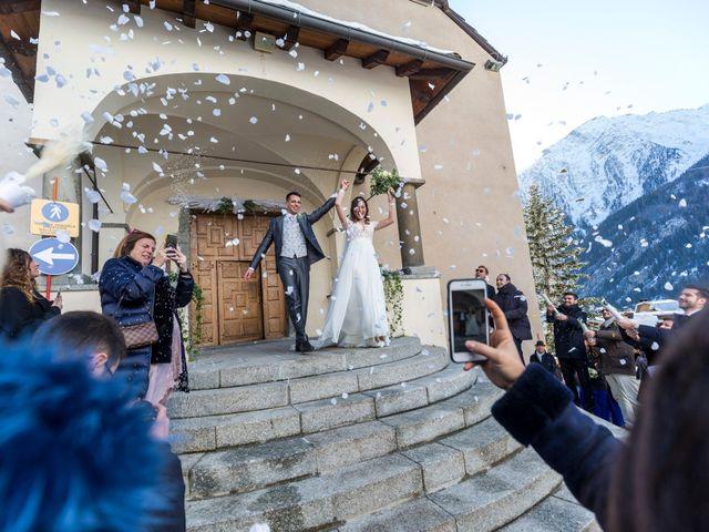 Il matrimonio di Viviana e Simone a Courmayeur, Aosta 32