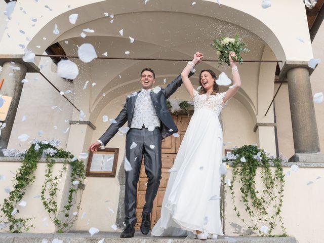 Il matrimonio di Viviana e Simone a Courmayeur, Aosta 33