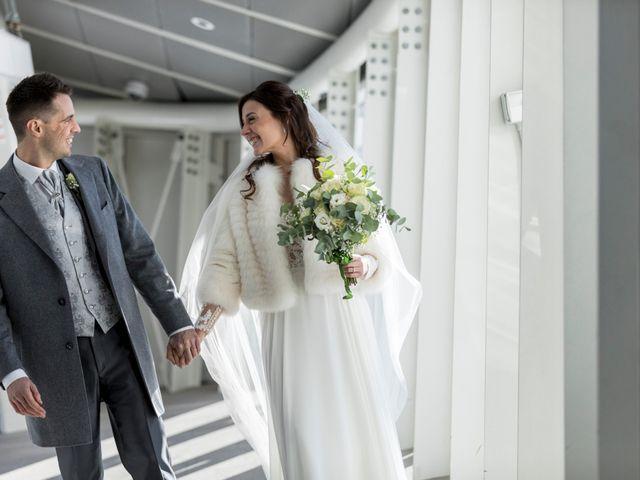 Il matrimonio di Viviana e Simone a Courmayeur, Aosta 35