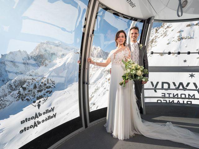 Il matrimonio di Viviana e Simone a Courmayeur, Aosta 37