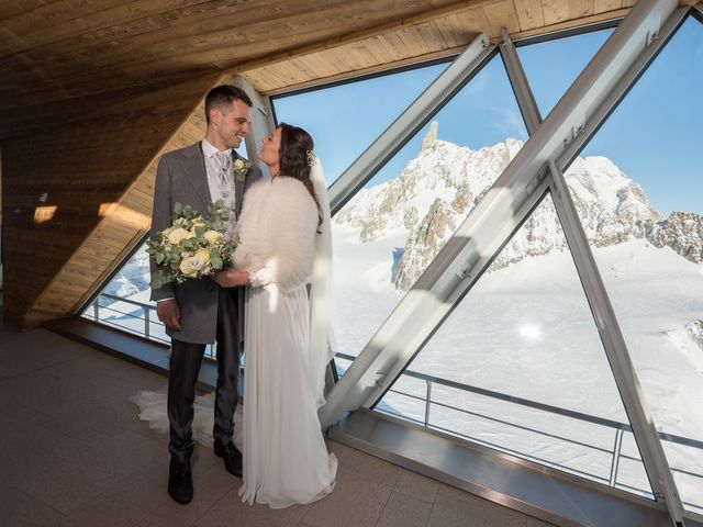 Il matrimonio di Viviana e Simone a Courmayeur, Aosta 38
