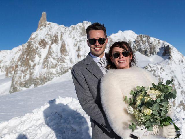 Il matrimonio di Viviana e Simone a Courmayeur, Aosta 40