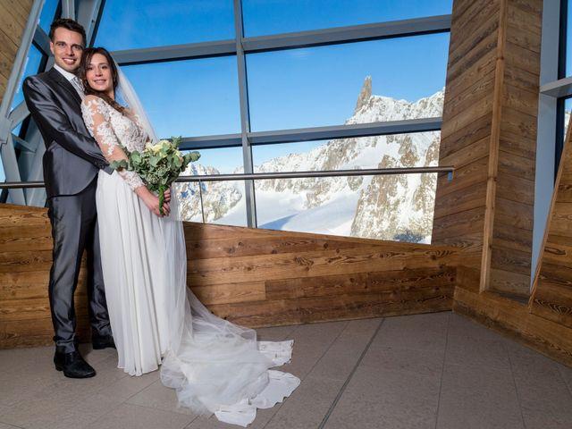 Il matrimonio di Viviana e Simone a Courmayeur, Aosta 45