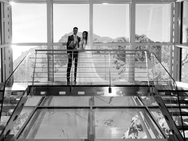 Il matrimonio di Viviana e Simone a Courmayeur, Aosta 46