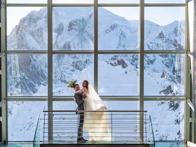 Il matrimonio di Viviana e Simone a Courmayeur, Aosta 47