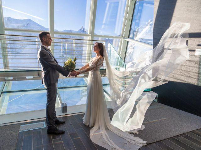 Il matrimonio di Viviana e Simone a Courmayeur, Aosta 48