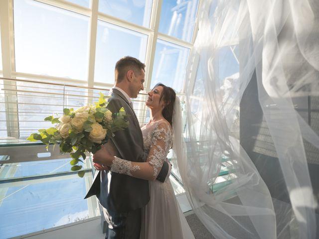 Il matrimonio di Viviana e Simone a Courmayeur, Aosta 49