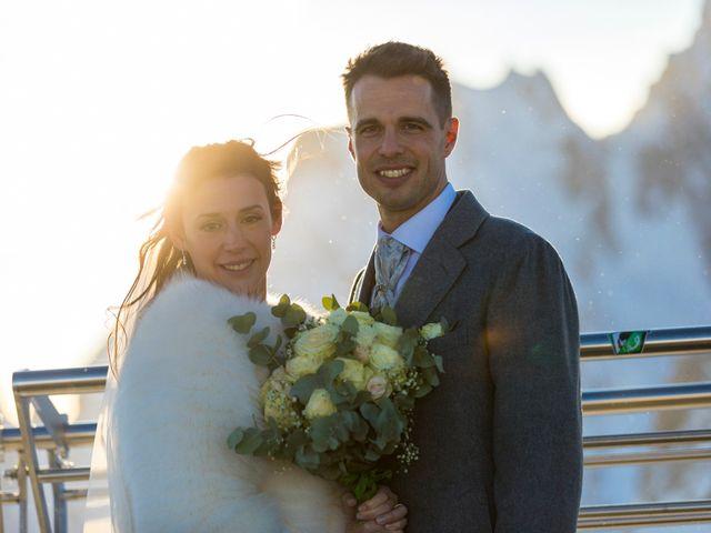 Il matrimonio di Viviana e Simone a Courmayeur, Aosta 50