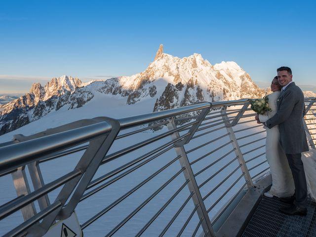 Il matrimonio di Viviana e Simone a Courmayeur, Aosta 53