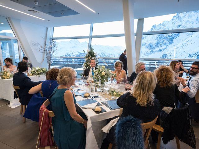 Il matrimonio di Viviana e Simone a Courmayeur, Aosta 58
